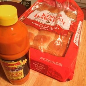 Buns and sauce